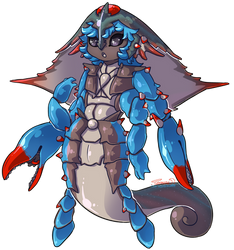 Lyth: CLOSED - Chesapeake Blue Crab by Jackalune