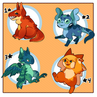 [OPEN 3/4] RoL: 'Lythpets' Themed Adopts