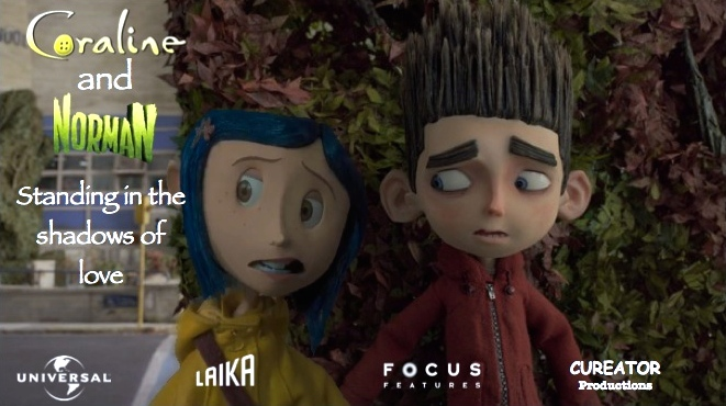 Coraline and Norman Ideal Movie Poster 3 by cureator on ...