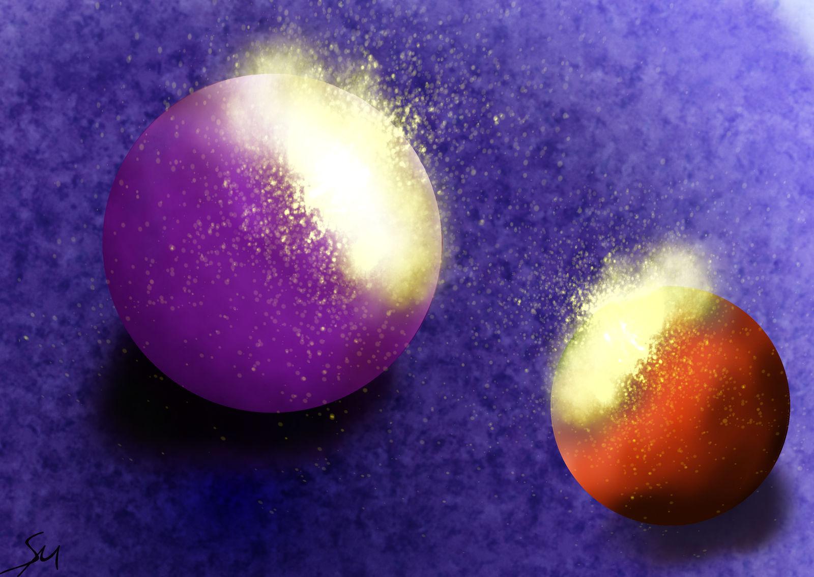 Disintegrating Spheres