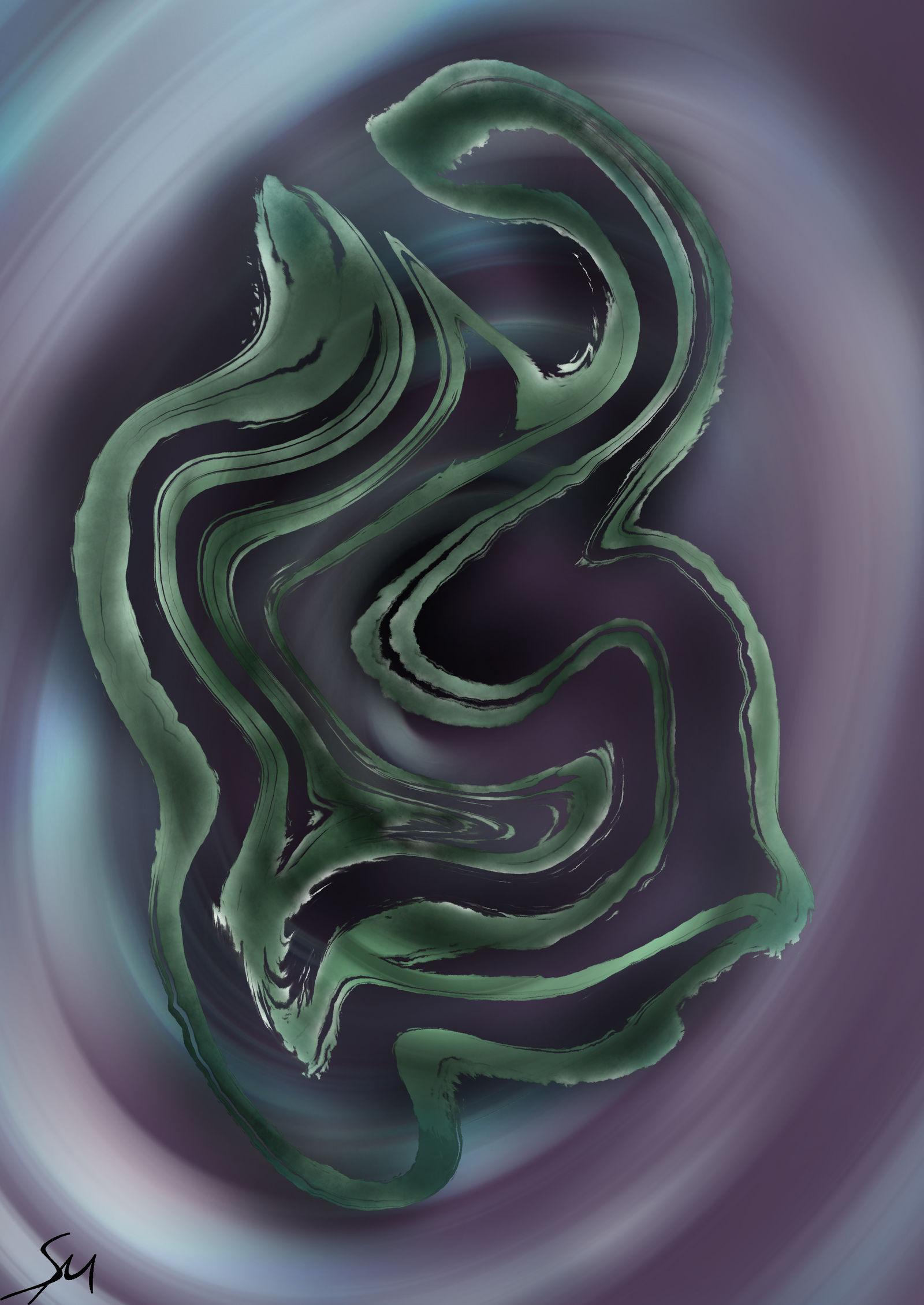 Swirled Lotus