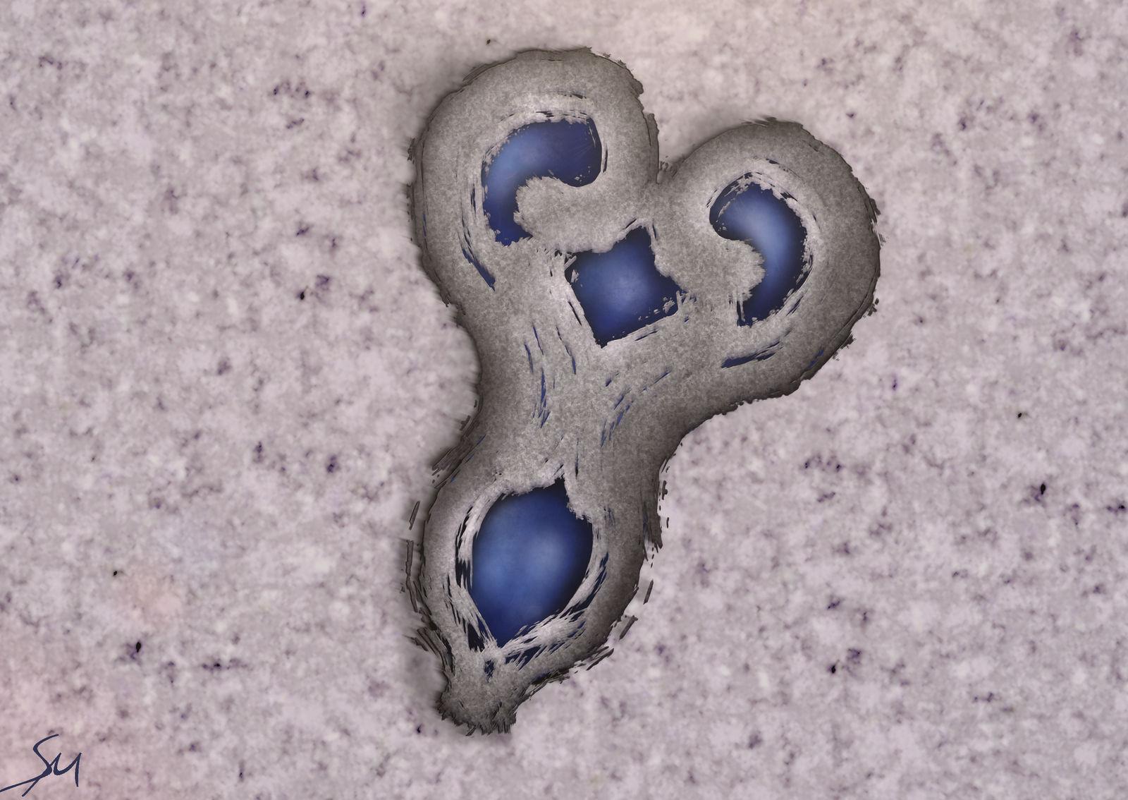 Marble Skull Amulet