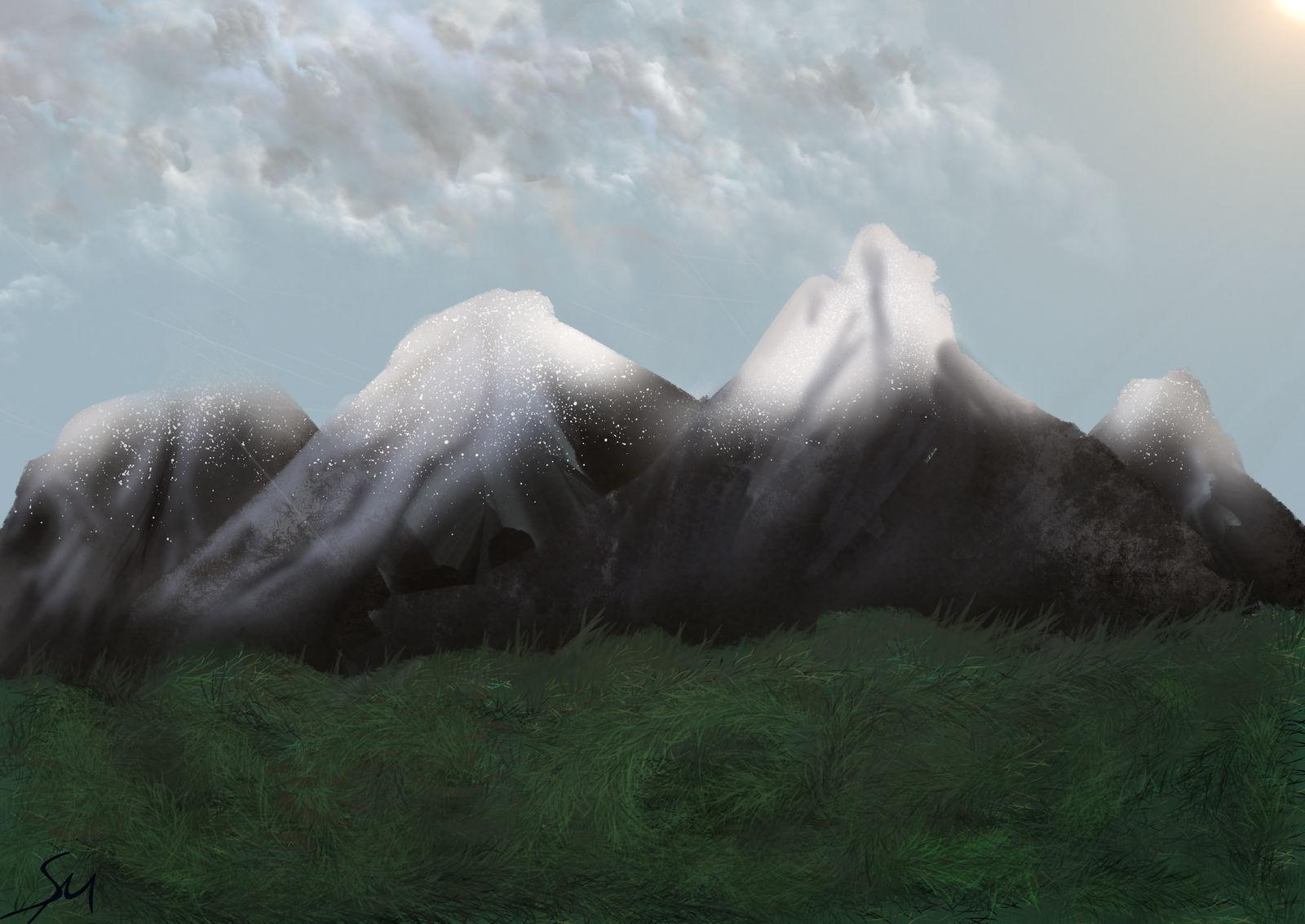 Mountain Range 001