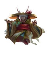 Japanese Witch by AnastasiaReddress