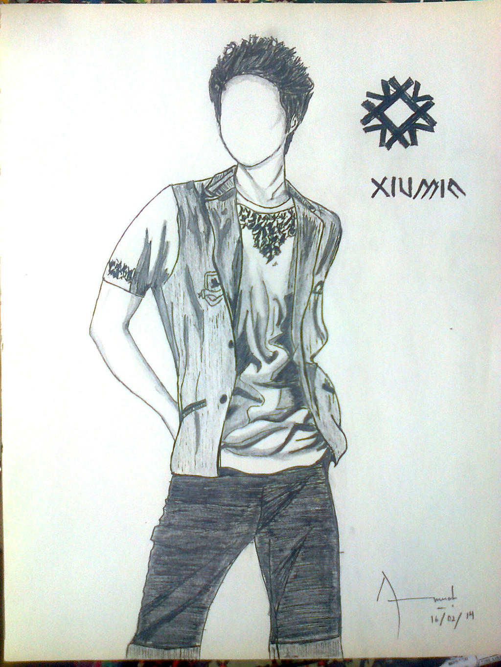 exo concept art xiumin by searingblaze000 on deviantart. Black Bedroom Furniture Sets. Home Design Ideas