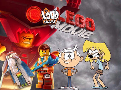 The Loud House LEGO Movie poster 2 by cartoonmaster01 on DeviantArt
