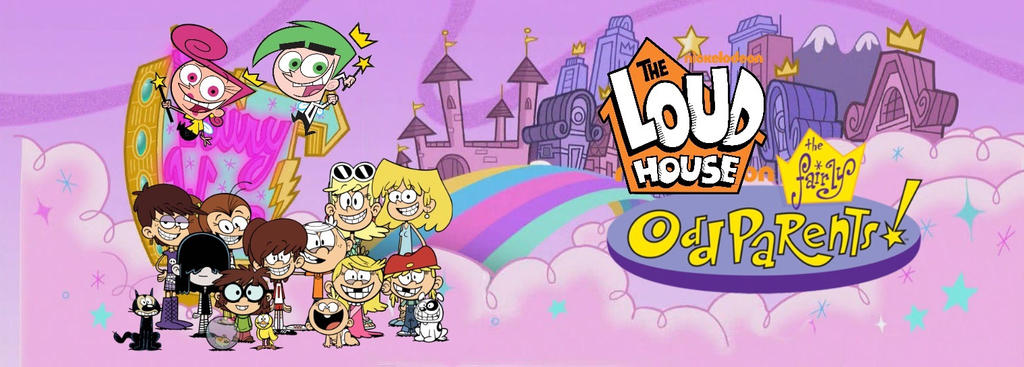 A Load Of Blogocks Some Odd Girl: The Loud House's Fairly OddParents Poster By