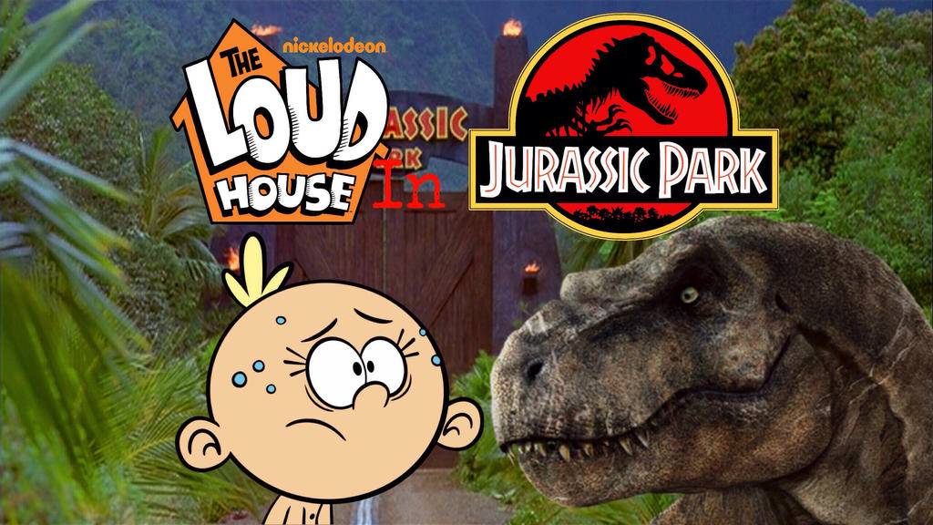 The loud house in jurassic park poster by cartoonmaster01 on deviantart Unlucky house