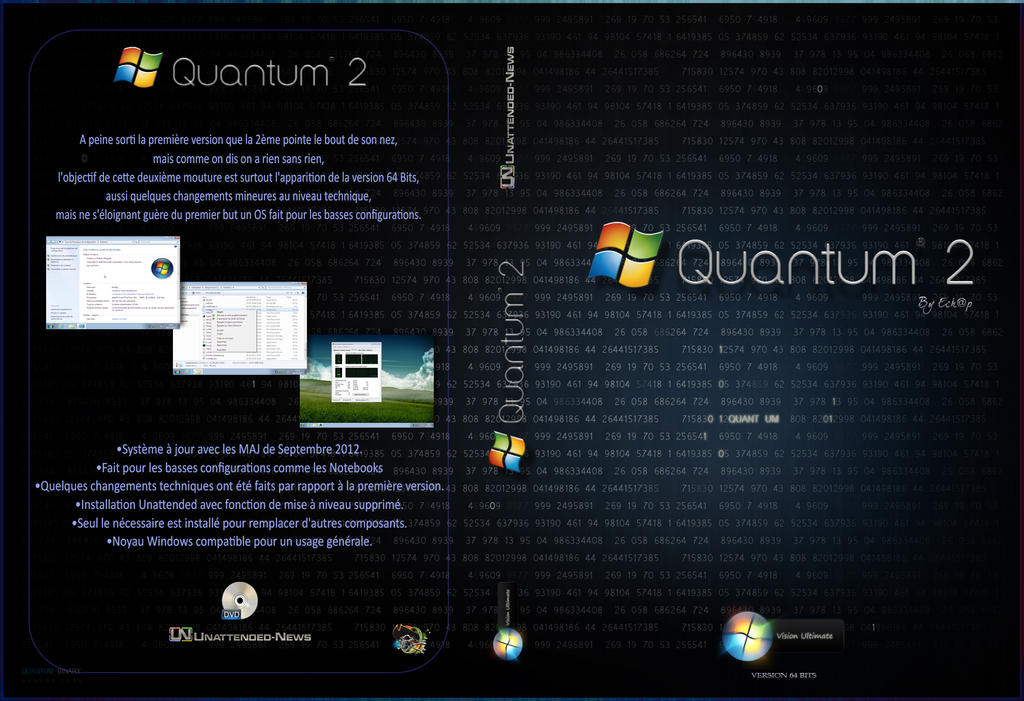 Jacket Quantum II 64 Bits by Jagouille
