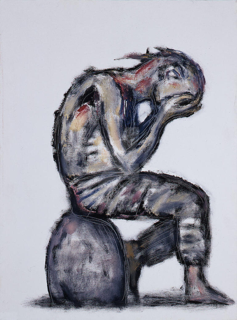 Grieving Man by CliveBarker
