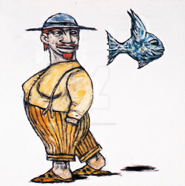 The Lady and the Fish by CliveBarker
