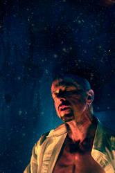 Clive Barker Self Portrait by CliveBarker