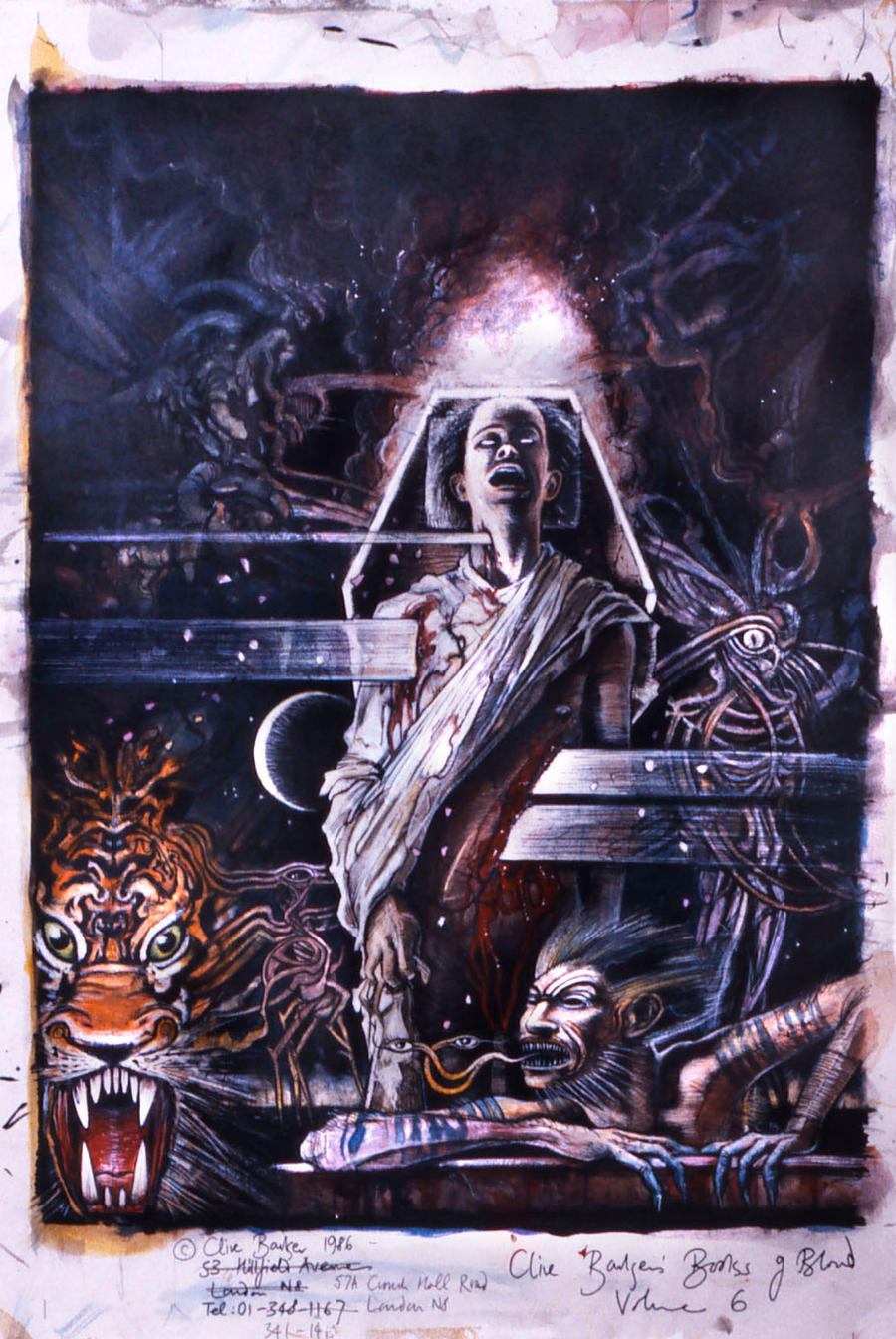 Books of Blood Vol 6 by CliveBarker