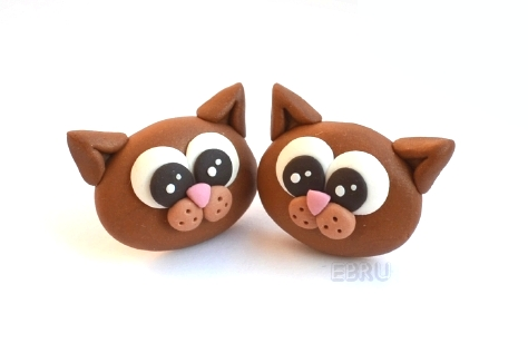 Kittens - earrings by Lovely-Ebru