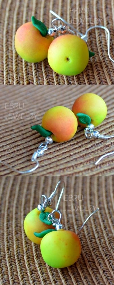 Apples earrings by Lovely-Ebru
