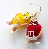 MM's earrings
