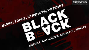 Black is Back Blood edition HD