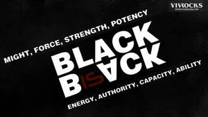 Black is Back, Original, HD