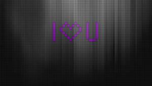Digital Love Monochrome by vivrocks
