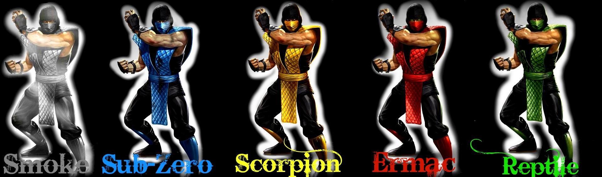 Mortal Kombat 9:Classic Ninjas by IamObiWanKenobi on DeviantArt