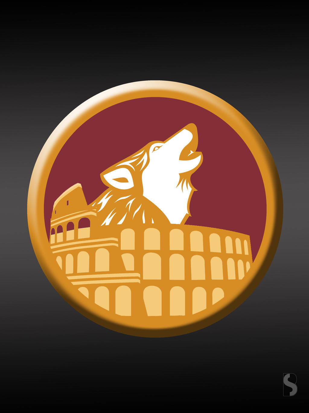 As Roma New Logo By Brunodesigng On Deviantart