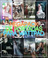 MEGAPACK DE PORTADAS PARA WATTPAD {Wattpad Covers} by maximoffwife