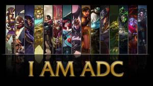 League of Legends I AM ADC wallpaper
