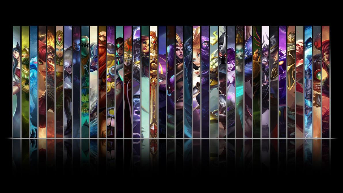 League of Legends Mid Wallpaper by NibblesMeKibbles on ...