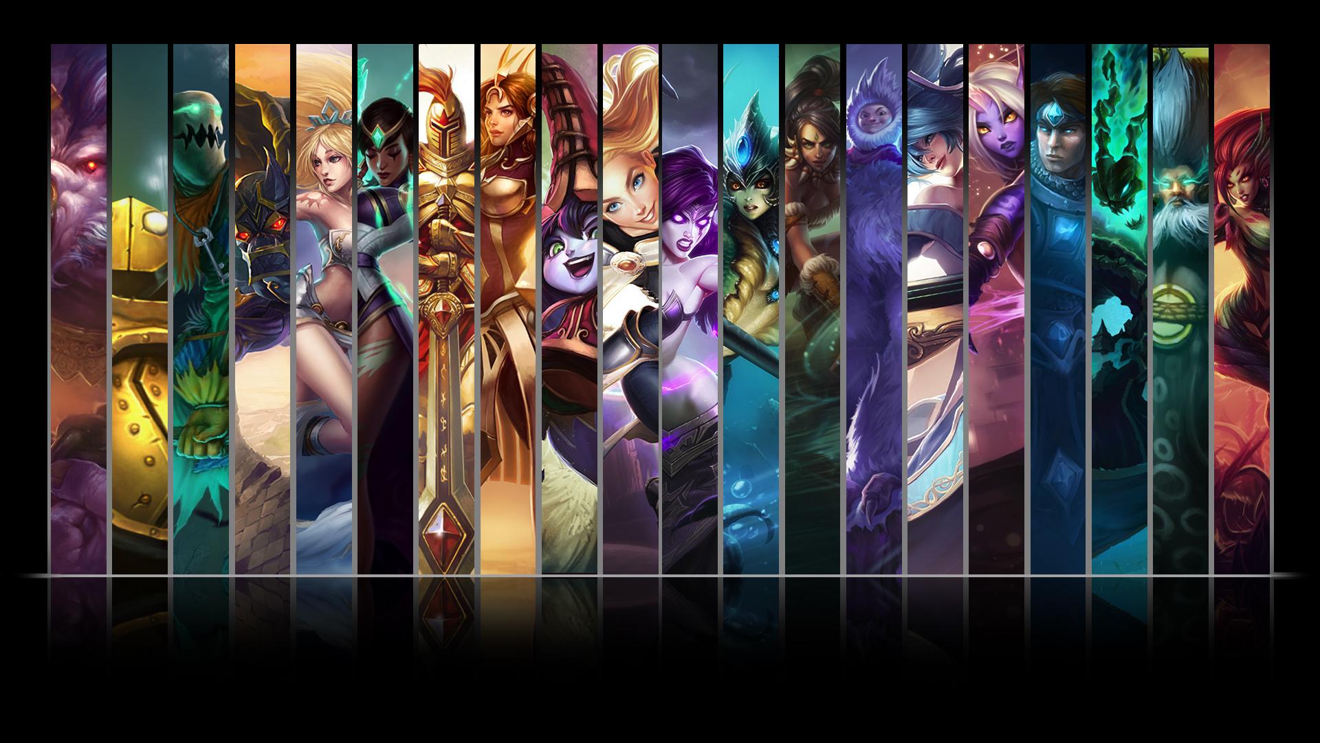 League Of Legends Support Wallpaper By Nibblesmekibbles On Deviantart