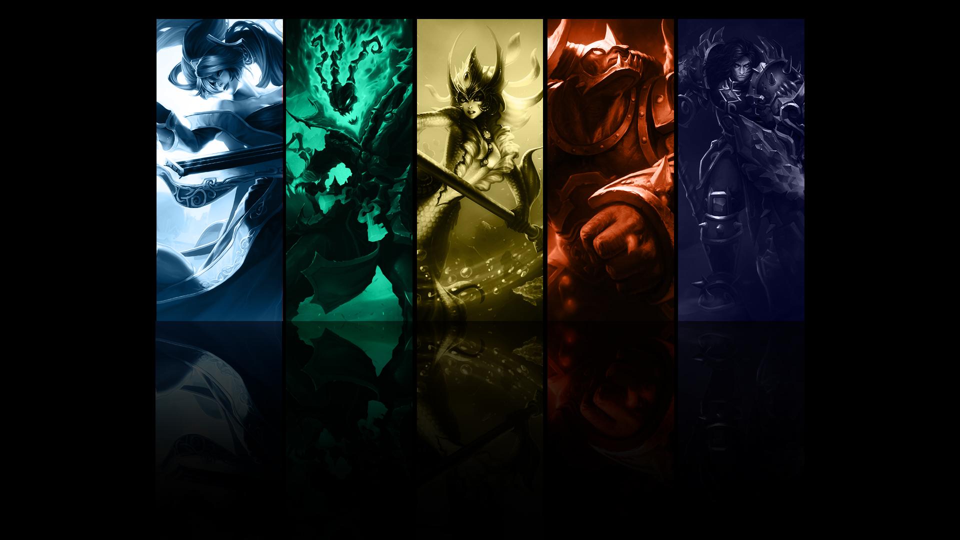 Wallpaper League Of Legends Champions