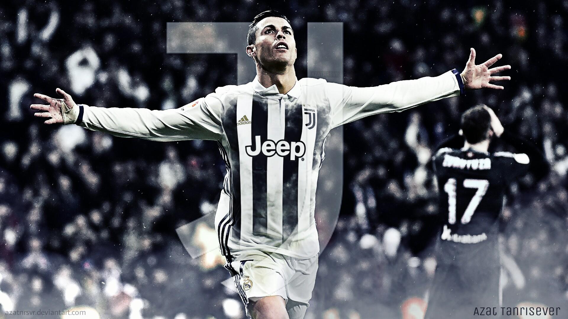 Ronaldo Juventus Wallpapers: Cristiano Ronaldo Juventus- Wallpaper By Azatnrsvr On