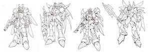 Mecha drawings