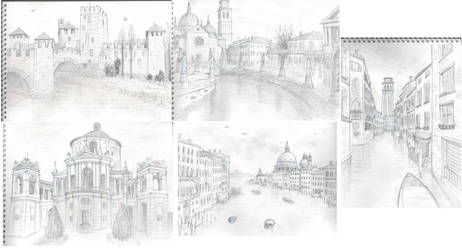 Travel sketches - Veneto by Serio555