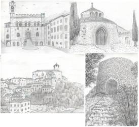 travel sketches - Umbria