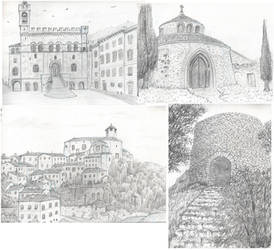 travel sketches - Umbria by Serio555