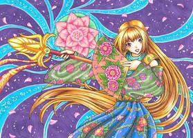 Floral Priestess by Serio555