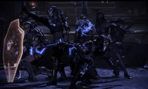 N7 fighting by Bacurok