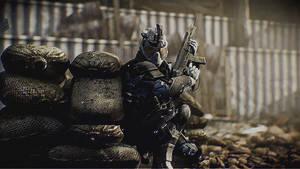 Warface Blackwood soldier