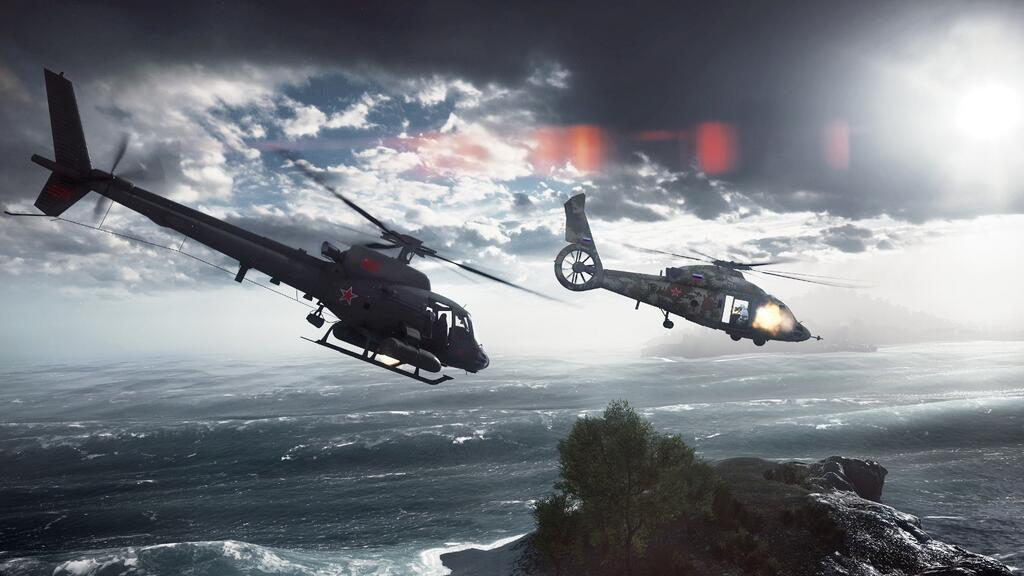 Battlefield 4 Elicottero : Battlefield paracel storm helicopter by bacurok on