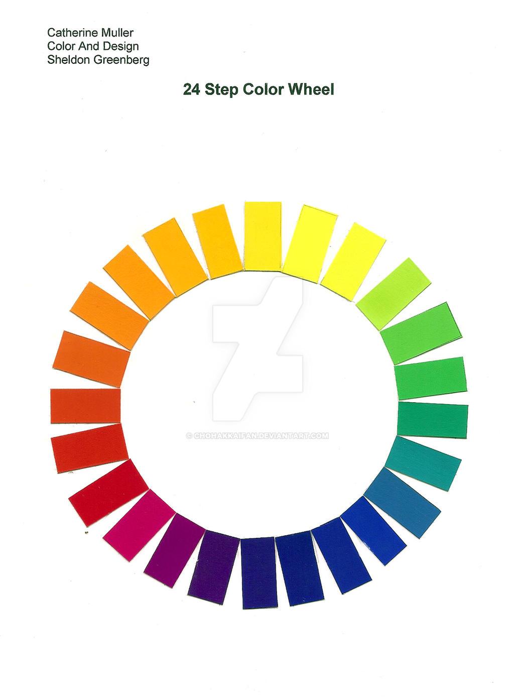 24 Step Color Wheel By ChoHakkaiFan