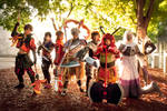 BASARA - Warriors of Sengoku by Yukari-of-Konoha