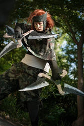 Ninja In The Wood