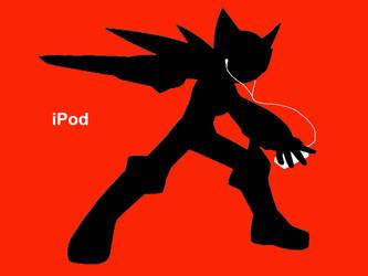 Megaman NT Warrior iPod by Yukari-of-Konoha