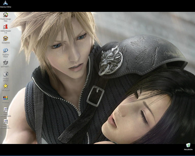 Cloud and Tifa Desktop by Yukari-of-Konoha