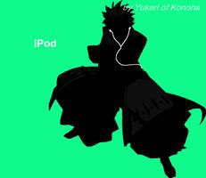 Hitsugaya iPod 2 by Yukari-of-Konoha