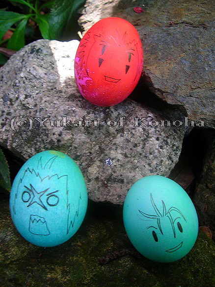 More Organization XIII eggs by Yukari-of-Konoha