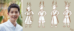 Running Man Animated : Kim Joong Ki Chara Design by littlevirgin