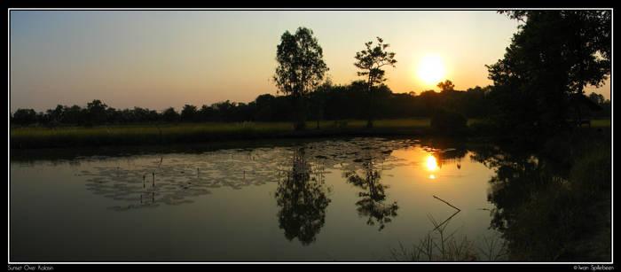 Sunset Over Kalasin