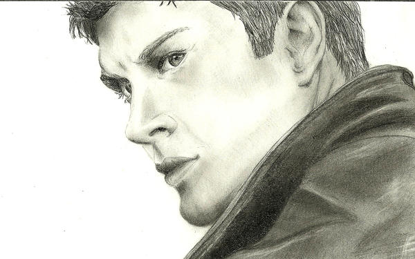 Dean Winchester by an-opened-book