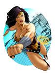 Wonder Woman colored2